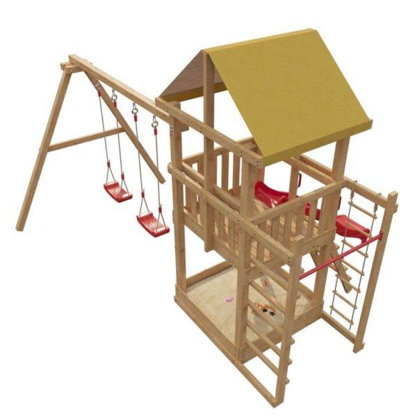 Детская площадка для дачи со столиком и лавочкой 5-й Элемент-3