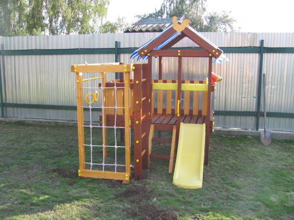 Детская площадка Савушка Baby play 1 фото