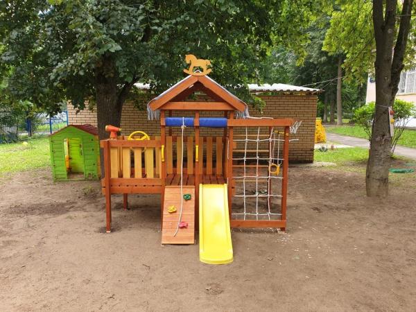 Детская площадка Савушка Baby play 3 фото