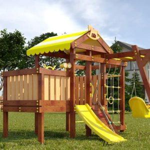 Детский игровой комплекс для дачи САВУШКА BABY PLAY – 2