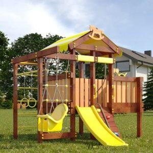 Детский игровой комплекс для дачи САВУШКА BABY PLAY – 6