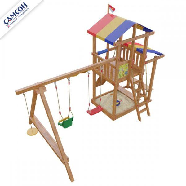 Детская площадка Самсон Кирибати_2