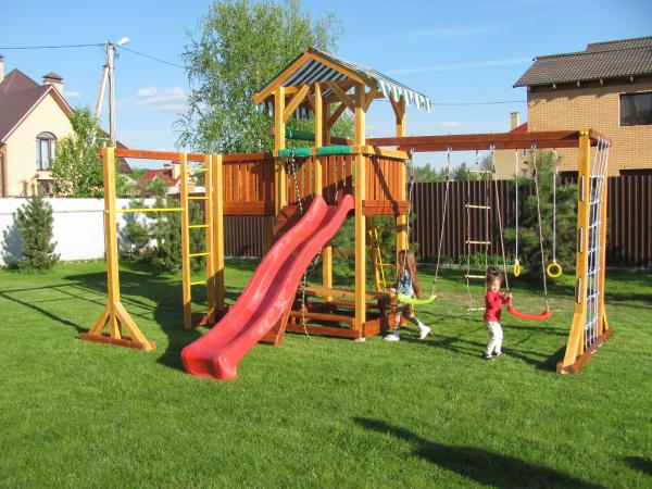 Детская площадка Савушка 15 -фото1