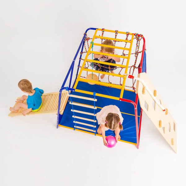 Комплект SportsWill Baby Hit classic плюс роликовая доска скалодром и канат