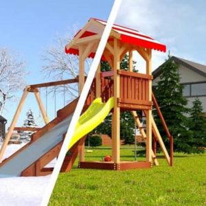 Детская площадка Савушка 4 сезона – 2