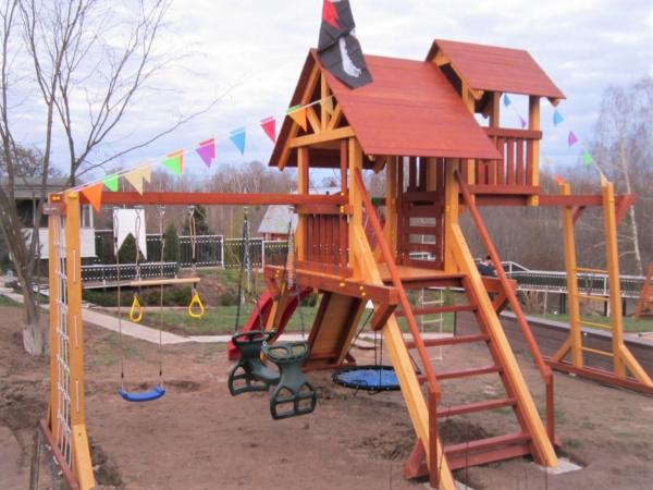 Детская площадка Савушка Люкс 10 фото3