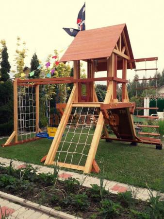 Детская площадка Савушка Люкс 5 фото