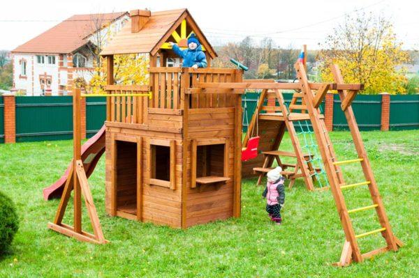 Детская площадка Выше Всех Крепость Спорт2