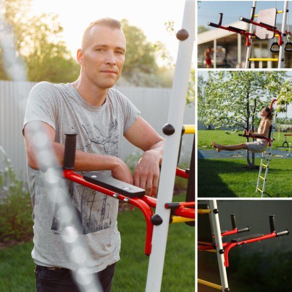 Детский спортивный комплекс для дачи ROMANA Акробат - 2_4