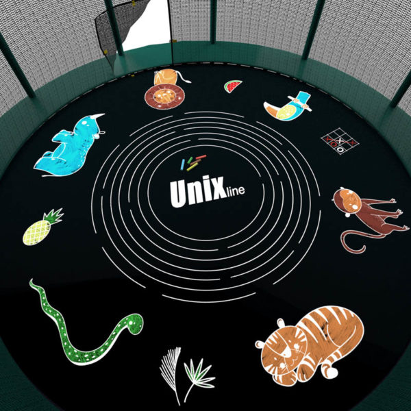 Батут UNIX line SUPREME GAME (green)2