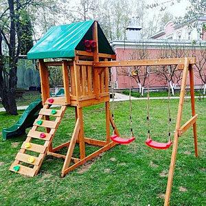Детские игровые комплексы для дачи Babygarden