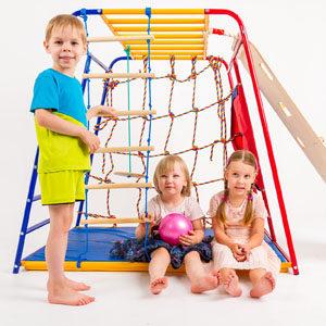 Детские игровые комплексы для дачи и дома SportsWill