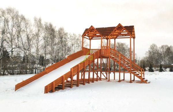 Зимняя горка Snow Fox Макси скат 10 м_5