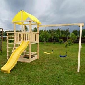 Детские игровые комплексы для дачи Элемент