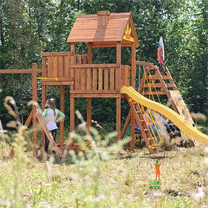 Детские игровые комплексы для дачи Выше всех