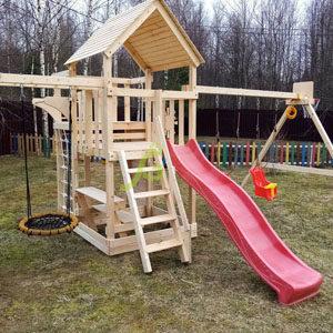 Детские игровые комплексы для дачи IgraGrad DIY