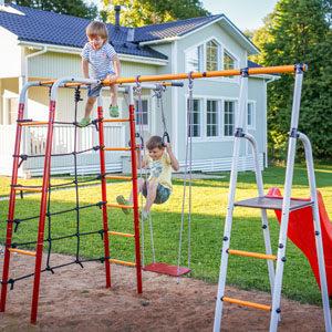 Детские игровые комплексы для дачи Romana