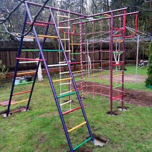 Детские игровые комплексы для дачи Вертикаль