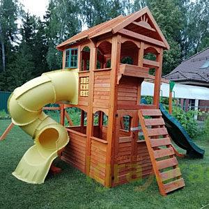 Детские игровые комплексы для дачи IgraGrad Клубный домик