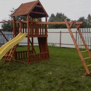 Детская площадка Африка с рукоходом_1