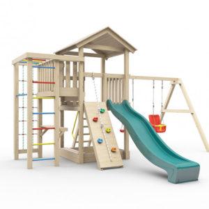 Детская площадка для дачи Лео_