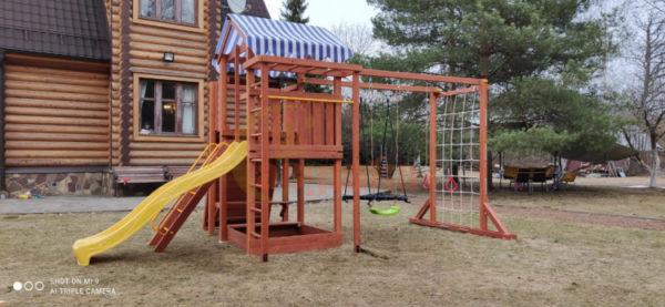 Детская площадка Савушка ХИТ 3 фото