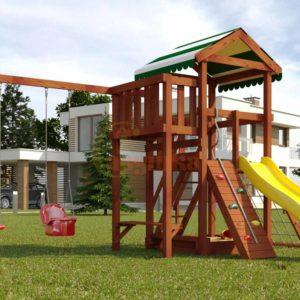 Детская площадка Савушка Мастер - 2 (Махагон)