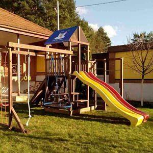 Детские игровые комплексы для дачи Росинка