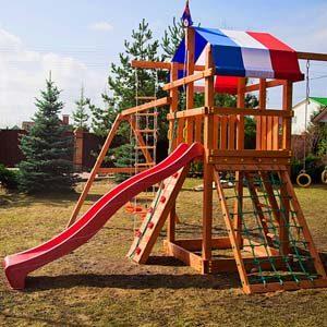 Детские игровые комплексы для дачи Самсон