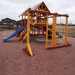 Детские игровые комплексы для дачи Савушка