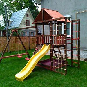 Детские игровые комплексы для дачи Сибирика