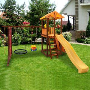 Детские игровые комплексы для дачи Perfetto Sport