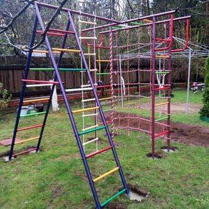 Детские игровые комплексы Вертикаль
